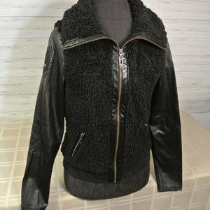HARLEY DAVIDSON MEDIUM Women Fleece Jacket Coat